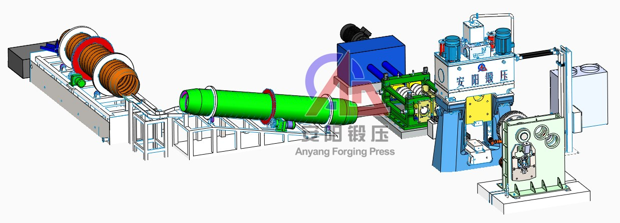 steel ball forging line