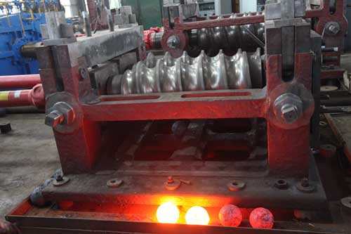steel balls production