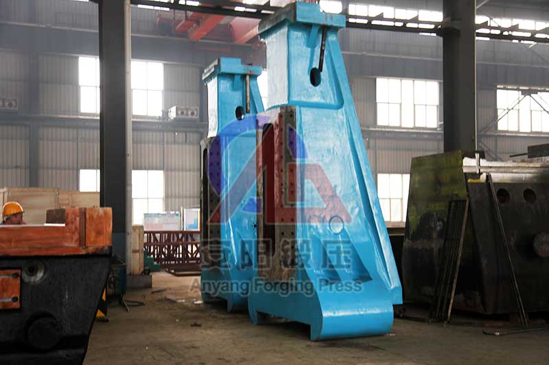 column of steam forging hammer